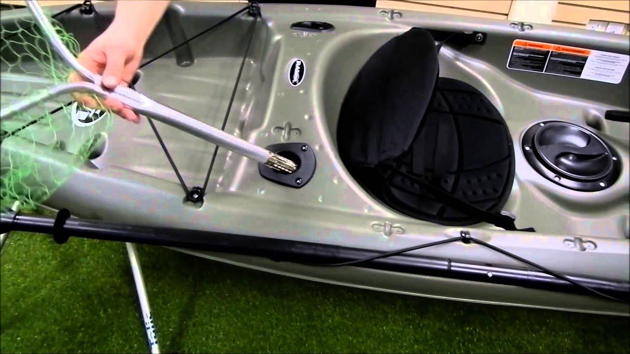 Pelican Tidewater 100 Angler Kayak Youtube