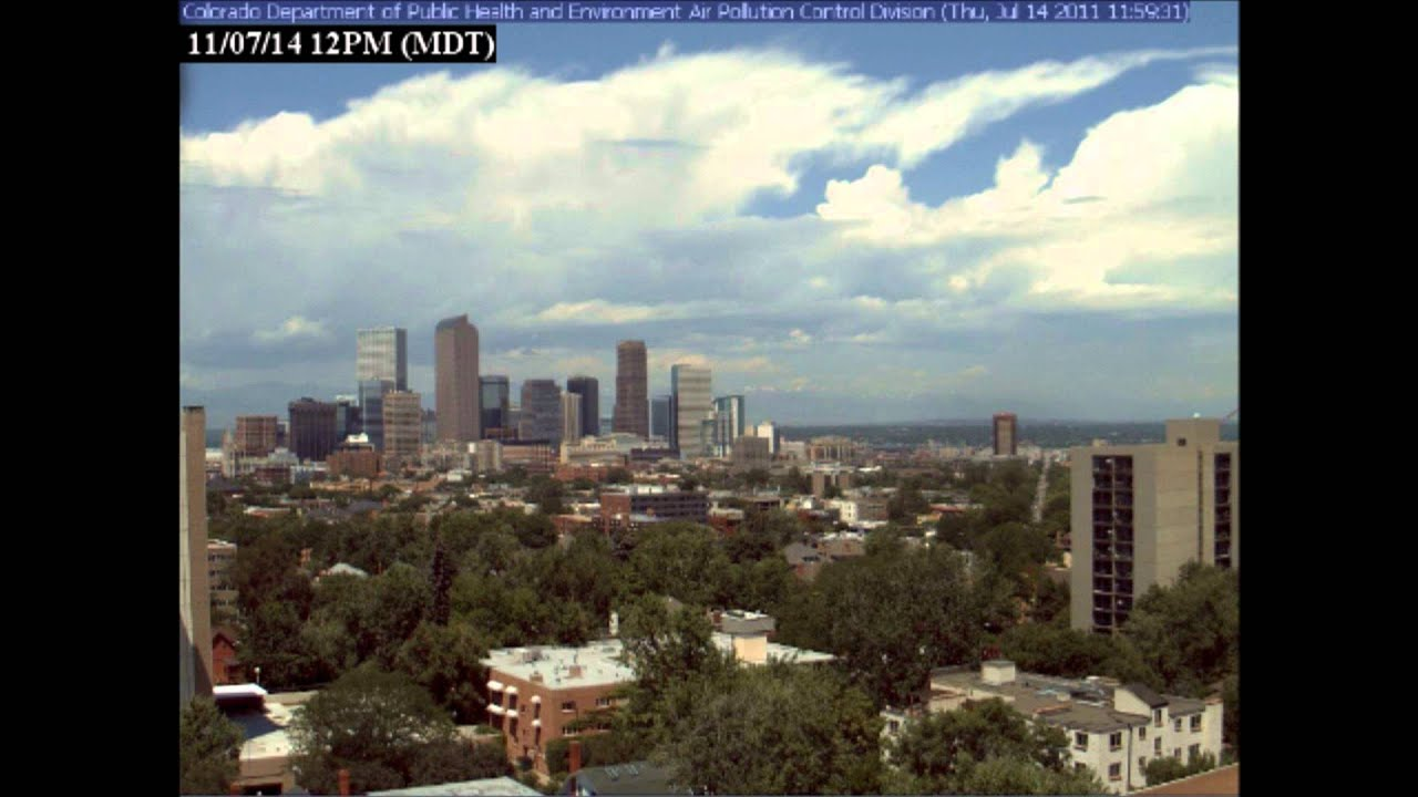 Denver Colorado Weather Time Lapse 7-14-11 - YouTube