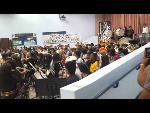 Sawgrass springs middle school band