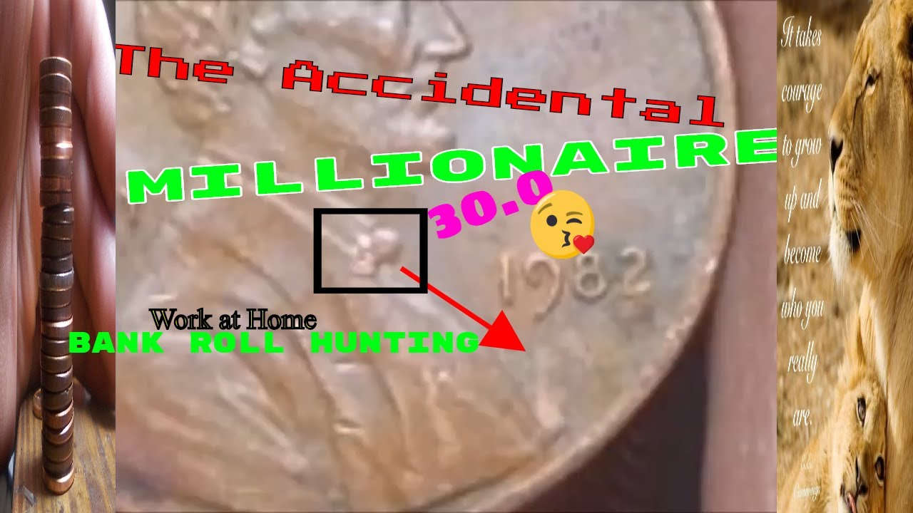 1982 small date copper D rusted ! | Rare coins collectables !! | Automatic CASH!!!