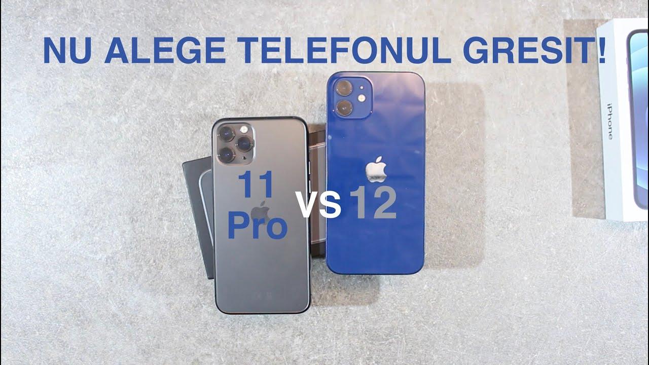 Ar trebui sa cumperi iPhone 11 Pro sau iPhone 12???