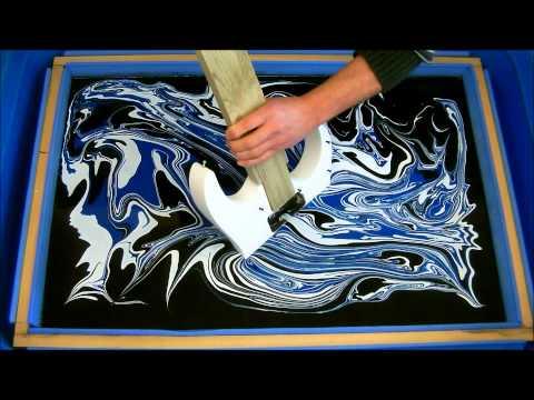 Swirling(Finished Swirled Ibanez RG350 Guitar)