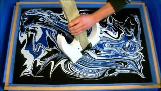 Swirling(Finished Swirled Ibanez RG350 Guitar) thumbnail