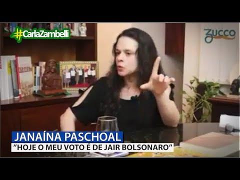 Janaína Paschoal Vota Em Bolsonaro Youtube