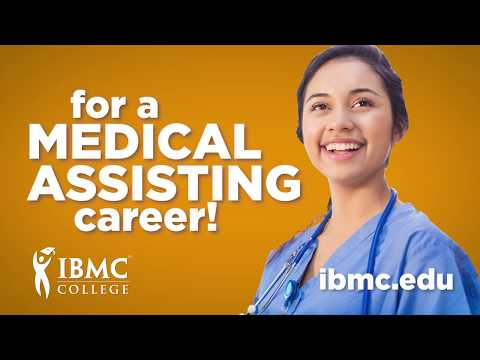 IBMC College 15 second Medical Assisting ad