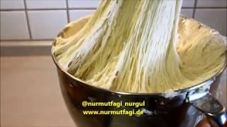 yarim paket yas maya ile 2,5 kilo hamur mayalama, az maya ile hamur nasil mayalanir? Nurmutfagi