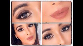 GRWM Natural Bronze Makeup Tutorial / using all affordable makeups