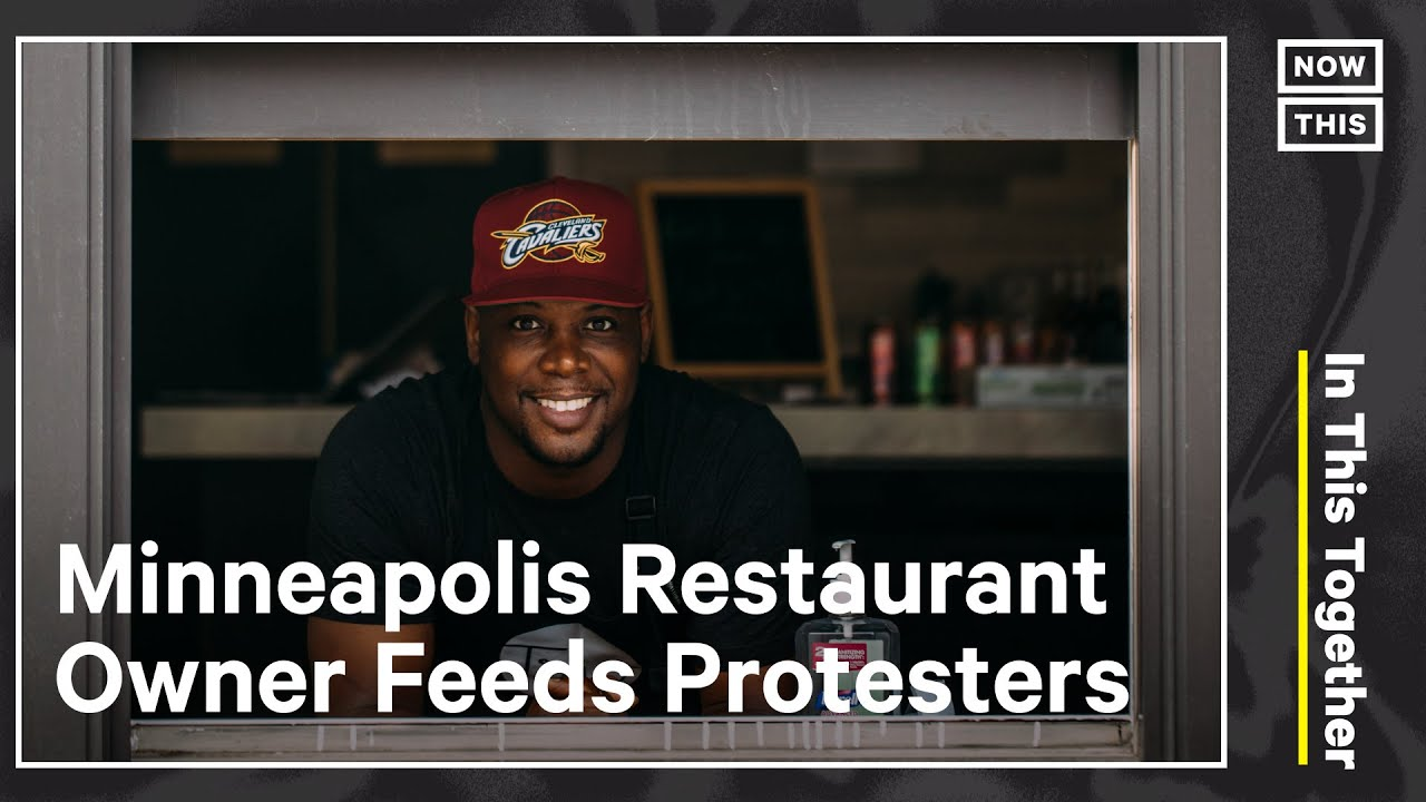Restaurant Owner Feeds BLM Protesters | In This Together | NowThis