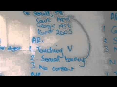 Criminal Law: Sexual Offences Act 2003