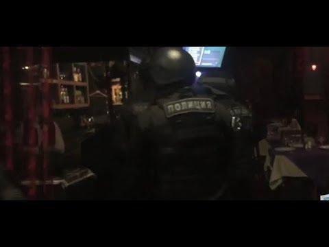 Появилось видео задержания тульского криминального авторитета в подмосковном Домодедово