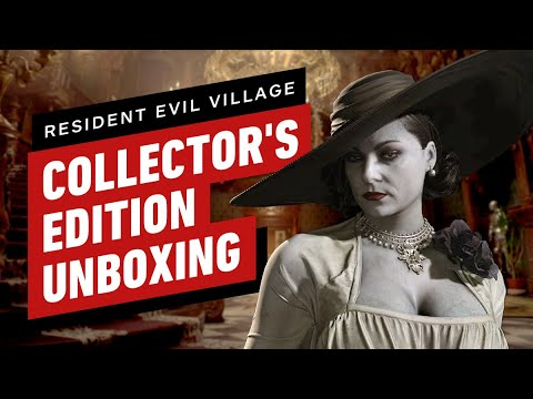 Resident Evil Village Collector's Edition Unboxing