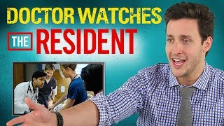 Real Doctor Reacts to THE RESIDENT | Medical Drama Review | Doctor Mike thumbnail