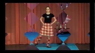 сольные шотландские танцы: позиции(Танцевальный видео-блог Марии Зотько о технике исполнения сольных спортивных шотландских танцев. В этом..., 2012-03-05T13:40:30.000Z)