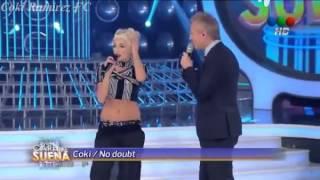 """Coki Ramirez como Gwen Stefani y su despedida de """"Tu cara me suena"""""""