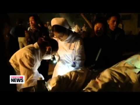 6.6-M quake strikes China′s Yunnan Province   중국 윈난성 6.6규모 강진