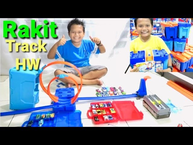 Unboxing Track Hot Wheels Builder System