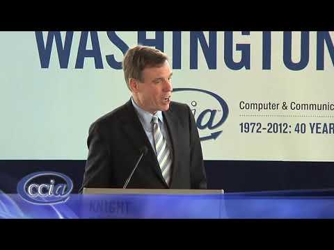 Senator Mark Warner CCIA Washington Caucus 2012