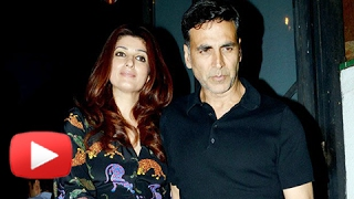 Akshay Kumar and Twinkle Khanna Spotted in a Valentine