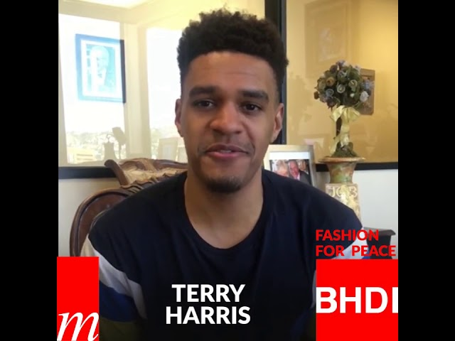 Watch Terry Harris' message on Fashion for Peace