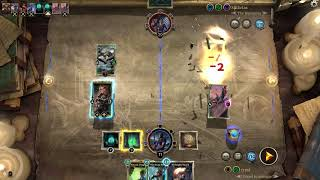 The Elder Scrolls: Legends - Training with the Singleton Monk for the upcoming Gauntlet