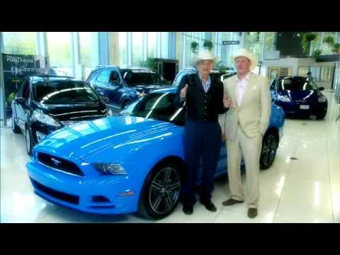 Cal Worthington Ford >> Win a Mustang courtesy of Cal Worthington Ford and GCI - YouTube