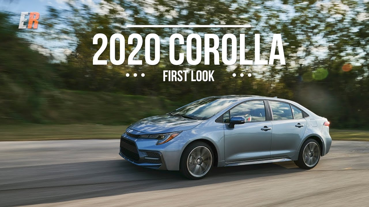 2020 Best Sedans FIRST LOOK 2020 Corolla Sedan   The Best Seller Just Got Better