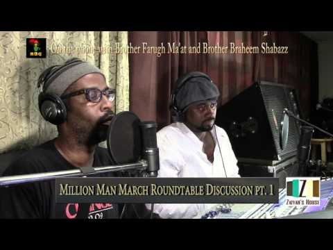 Zaiyah's House Discussion of The Million Man March Pt.1