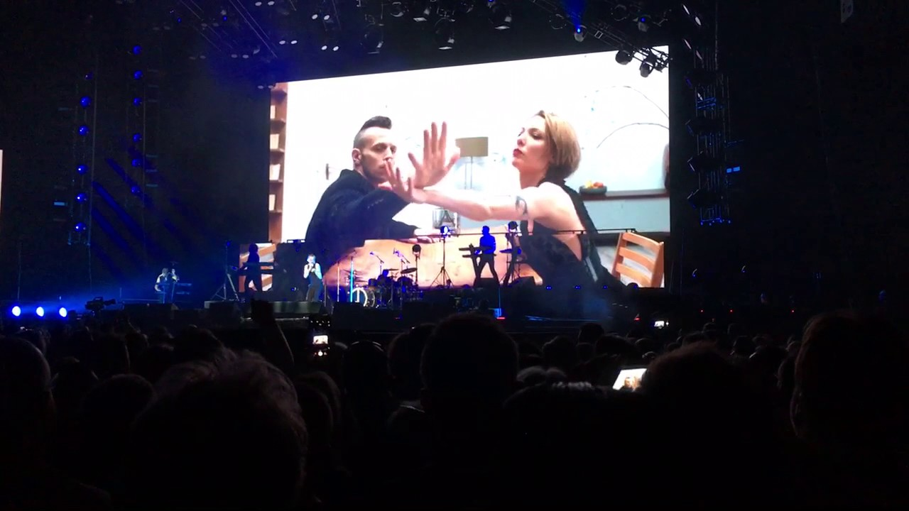 Depeche Mode In Your Room Full Projection Live Stockholm 5 Youtube