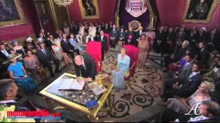 Albert et Charlène : le mariage civil en HD