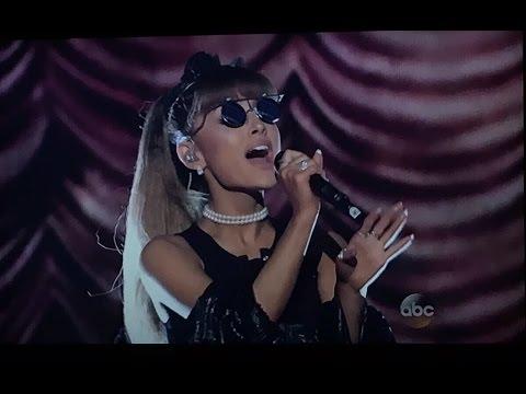 Ariana Grande - Whitney Houston medley full performance at ABC Greatest hits 2016
