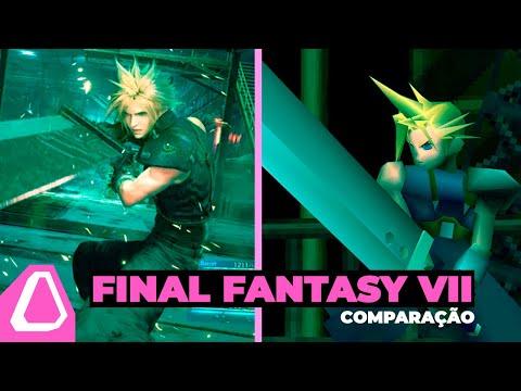 Final Fantasy VII: Comparação Original vs. Remake