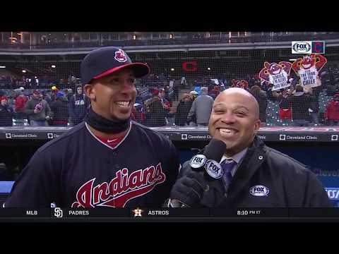 Indians' home opener win makes Michael Brantley 'feel like a little kid again'