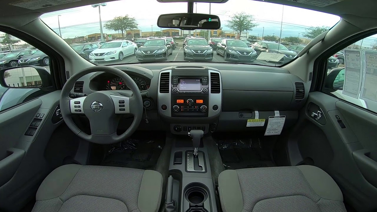 Nissan Frontier Sv Interior