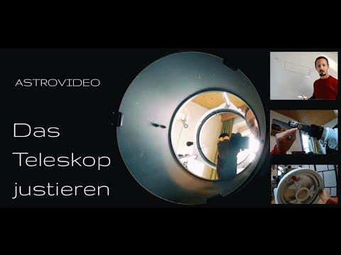 Das teleskop justieren youtube