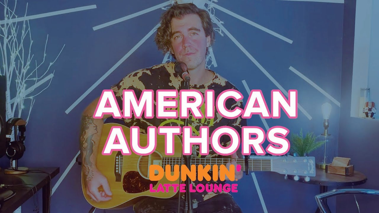 American Authors Perform At The Dunkin Latte Lounge