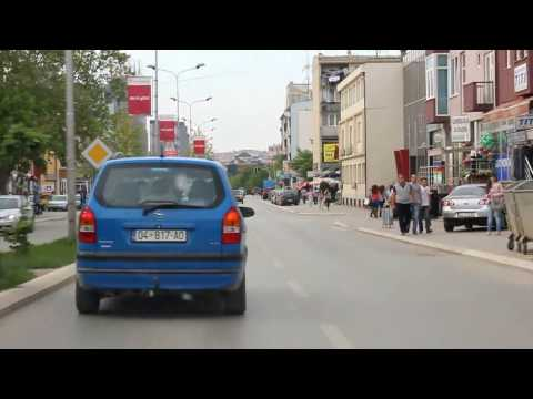 Drive to Prishtina, Kosovo