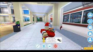 How to be Santa in Robloxian High School ~ ROBLOX