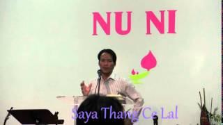 Bible Study by Saya Thang Ce Lal