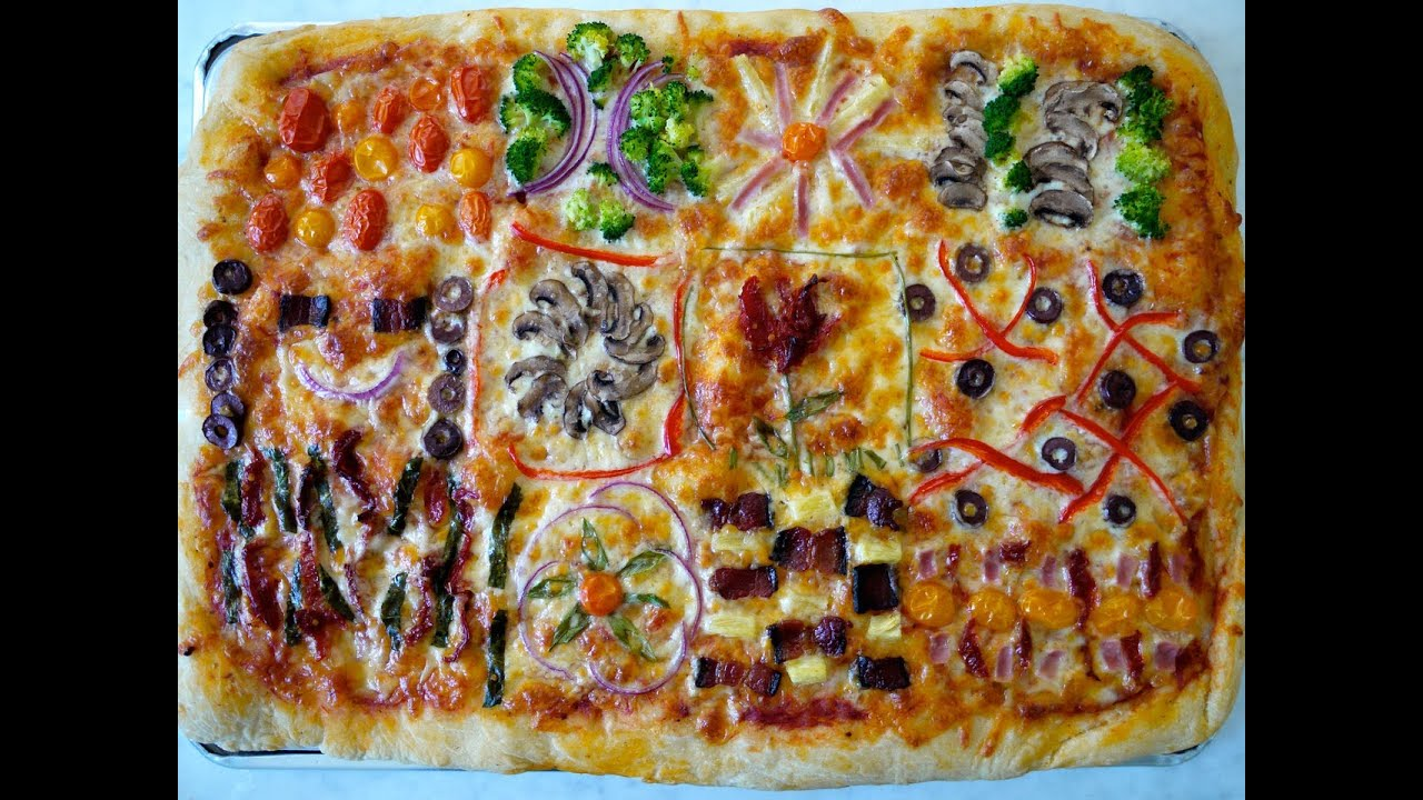 7b7adaa0d033 Recipes for Children  How to Make Healthy Pizza for Kids - YouTube