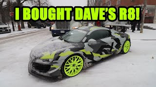 I BOUGHT THE DDE R8 AND BRAVED THE SNOW AGAIN FOR A TOY DRIVE!