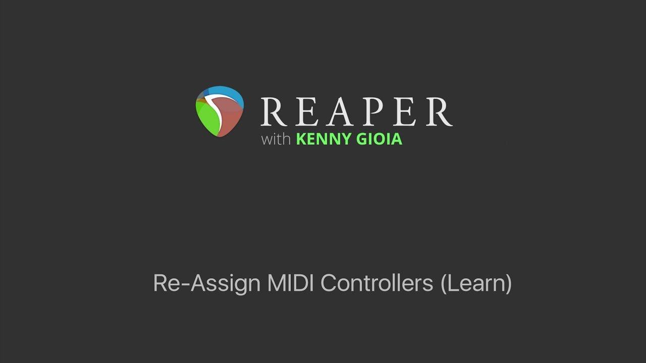 reaper midi learn