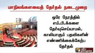 Full Details: Rajya Sabha MP Selection From Tamil Nadu Assembly