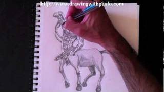Drawing a Centaur with Paolo Morrone