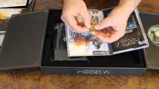Unboxing: Might & Magic: Heroes VI sběratelská edice