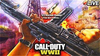 "COD WW2 1.09 UPDATE / FG42 ""BUFF"" GREASE GUN ""BUFF"" COMBAT SHOTGUN ""NERF"" + MORE! / COD WW2 LIVE!"