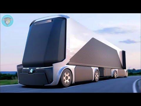 5 Camiones y Buses Futuristas Que Tienes Que Ver Para Creer ✔