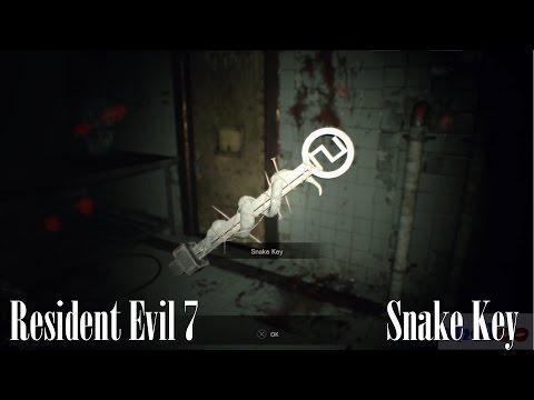 Resident Evil 7: Snake Key Location (Biohazard 7 Guide)