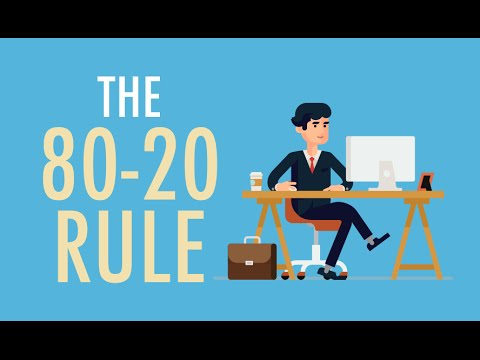 Improve Your Productivity With the 80/20 Rule