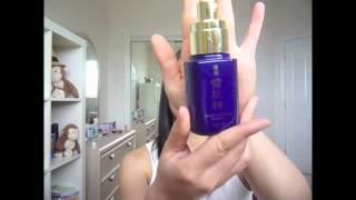 KOSE Skincare Routine Thumbnail