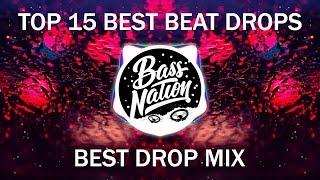 TOP 15 BASS BEAT DROPS | BEST 15 BASS BEAT DROPS 2017 | INSANE BASS DROP MIX 2017 by Best Drop Mix